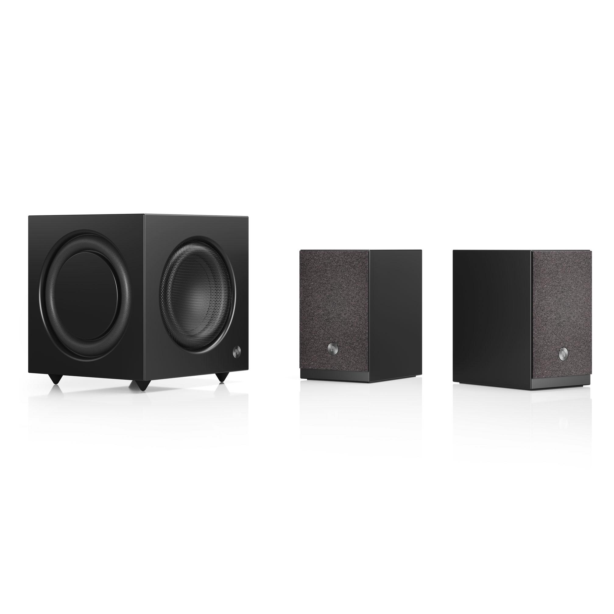 Active Subwoofer Sw 10 Wireless Multiroom Speaker A26 Black Group1 Audiopro Audio Pro